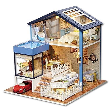 Giocattoli Per Bambini Casa Delle Bambole Con Mobi Fai Da Te