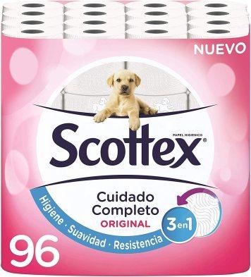 Scottex Papel-Higiénico 96 Rollos