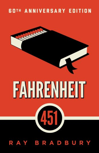 Fahrenheit 451 by Ray Bradbury 60th anniversary edition