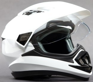 Dual Sports Helmet - Off Road Motocross Enduro