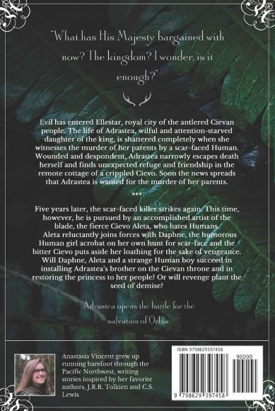 Adrastea back cover with blurb