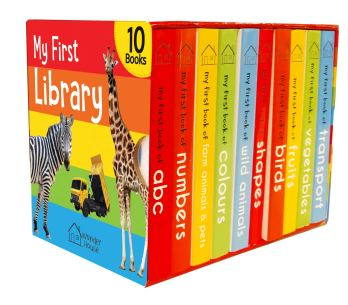My First Library: Boxset of 10 Board Books for Kids PDF Download
