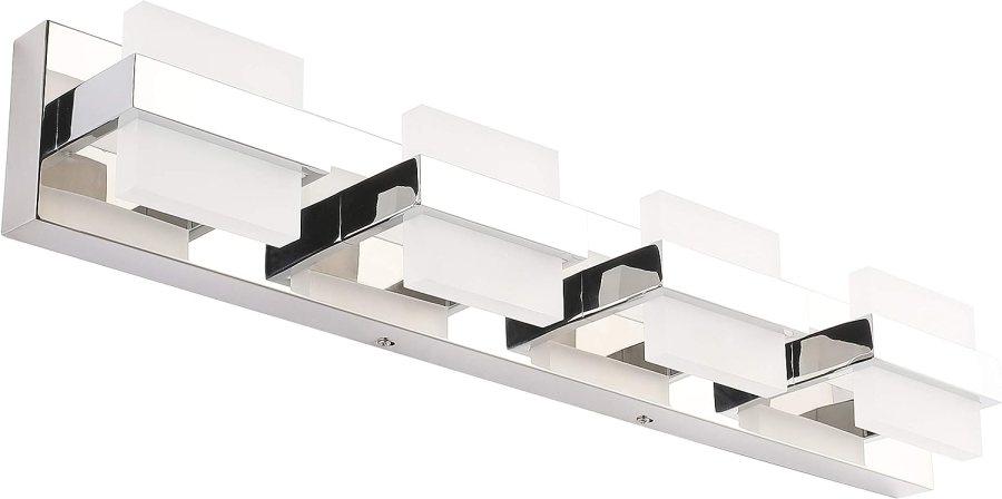 SOLFART Modern 4 Lights LED Vanity Lights for Bathroom