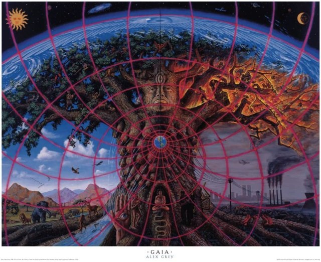 Amazon.com: Alex Grey - Gaia - Poster: Posters & Prints