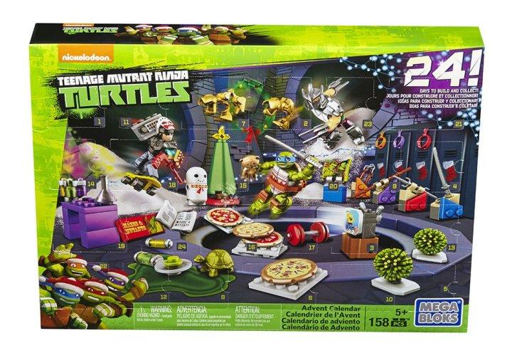 Mega Bloks Teenage Mutant Ninja Turtles Advent Calendar