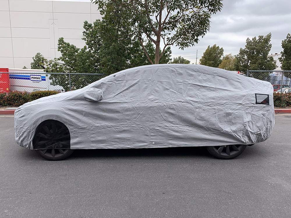Image result for CarsCover Custom Fit Tesla Model X SUV Car Cover Heavy Duty All Weatherproof Ultrashield Covers
