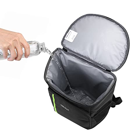 Man Holding Two Soft Coolers