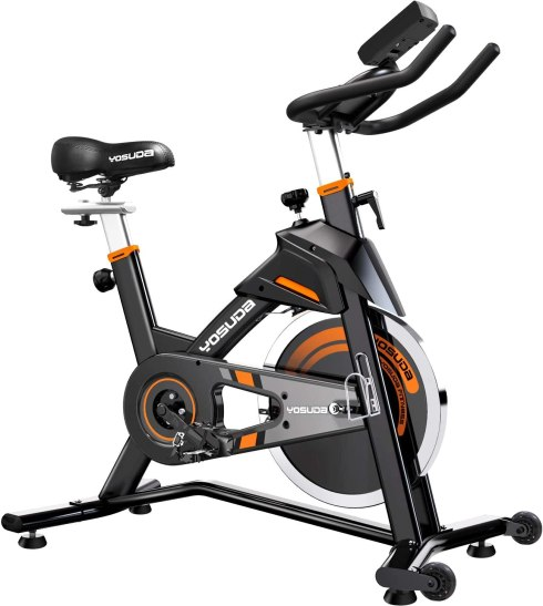 YOSUDA Indoor Cycling Bike Stationary - Exercise Bike for Home Gym