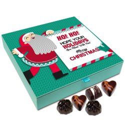 Chocholik Christmas Chocolate Box – Hope Your Holidays are Filled with Fun, Merry Christmas Chocolate Box – 9pc