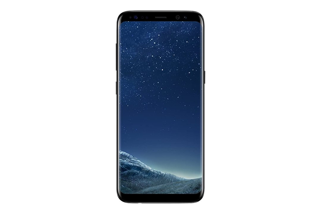 Samsung Galaxy S8 Smartphone débloqué 4G (Ecran : 5,8 pouces - 64 Go - 4 Go RAM - Simple Nano-SIM - Android Nougat 7.0) Noir