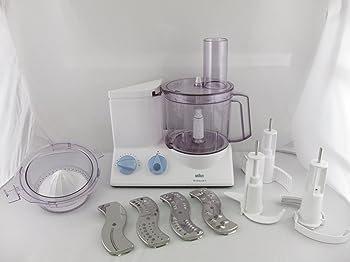 Braun K650 Multiquick 600-watt Kitchen Machine Food Processor