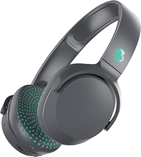 Skullcandy Riff Wireless On-Ear Headphone with Mic (Gray/Speckle/Miami)