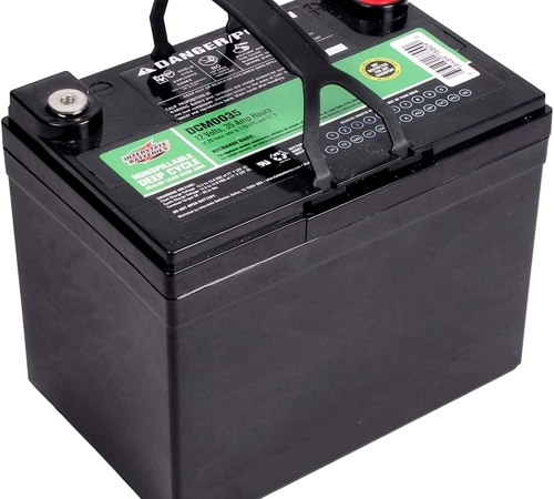 Interstate Batteries 12V 35AH Sealed Lead Acid Deep Cycle Battery
