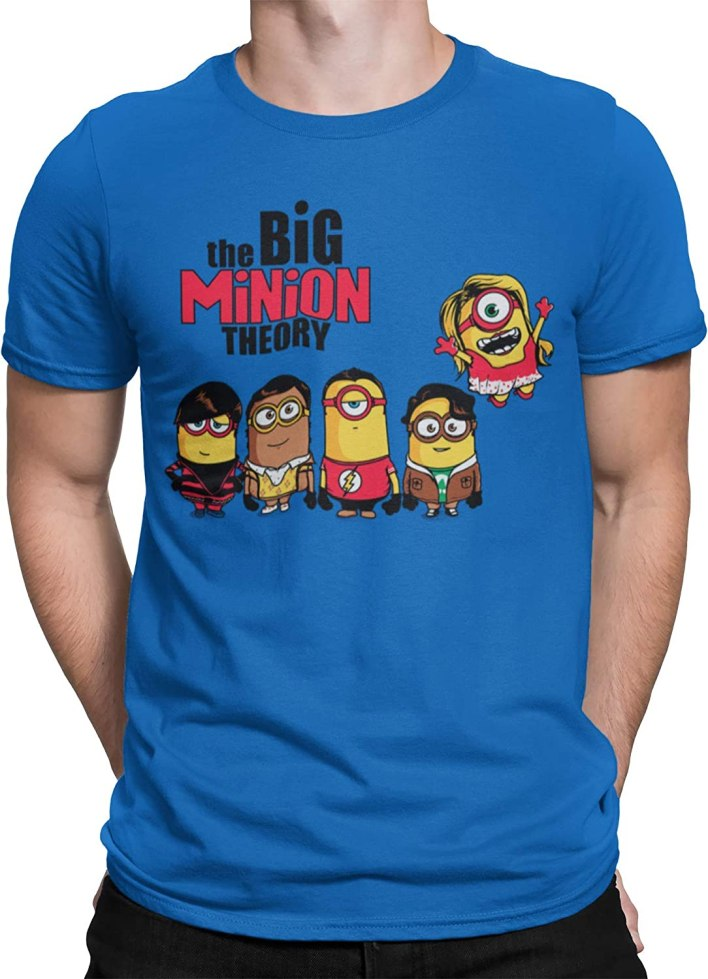 Camisetas La Colmena 208-The Big Minion Theory (Donnie)