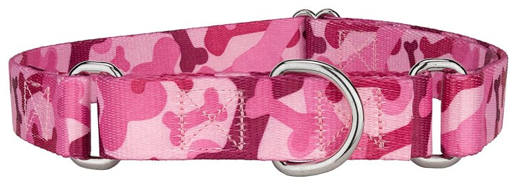 Pink Camo Collar for Dogs
