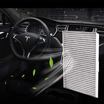Amazon Com Lmzx Tesla Model S Cabin Air Filter With Activated Carbon Replacement For Tesla Model S 2016 2017 2018 2019 2020 Accessories Automotive