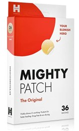 Mighty Patch Original - Best-Selling Hydrocolloid Acne Pimple Patch Spot Treatment (36ct) for Face, Vegan, Cruelty-Free, 50% Better Absorption