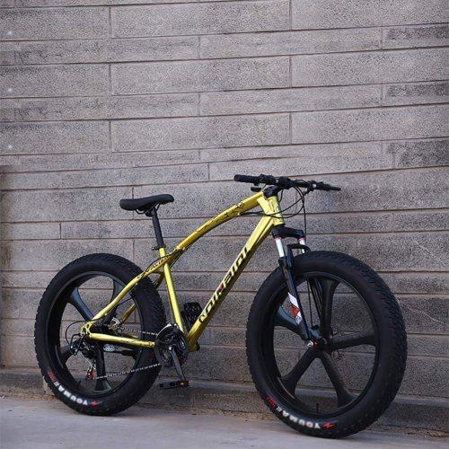 KKLTDI 26 Inch Fat Tire Bicycle