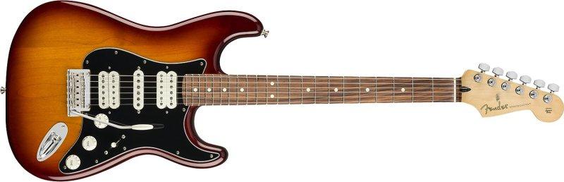 Fender Player Stratocaster HSH Electric Guitar - Pau Ferro - Tobacco Sunburst