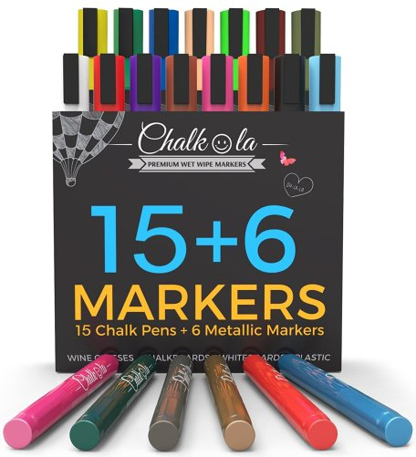 Liquid Chalk Markers by Chalkola