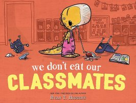 We Don't Eat Our Classmates: Higgins, Ryan T., Higgins, Ryan T.:  9781368003551: Amazon.com: Books