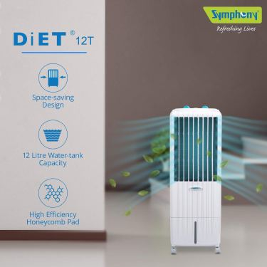 Symphony Diet 12T Personal Tower Air Cooler - Best Air Cooler in India with Price