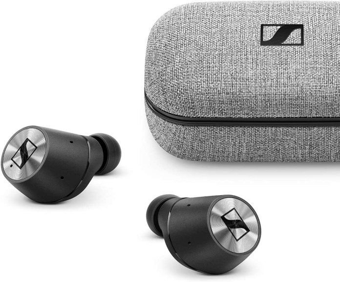 Sennheiser Momentum True Wireless In Ear Headphones With Touch Control Transparent Hearing And Charging Case Amazon Co Uk Computers Accessories
