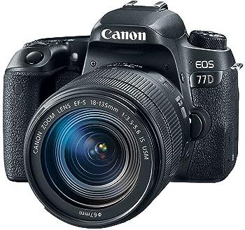 Canon EOS 77D 24.2MP Digital SLR Camera