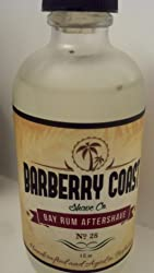 Sale - Bay Rum Aftershave Splash for Men - Crafted with Authentic Bay Oils from Dominica Republic in The Virgin Islands - Natural and Pure Ingredients - 4oz. - from Barberry Coast Shave Co. Customer Image