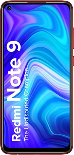 Redmi Note 9 (Aqua Green, 4GB RAM, 64GB Storage) - 48MP Quad Camera & Full HD+ Display