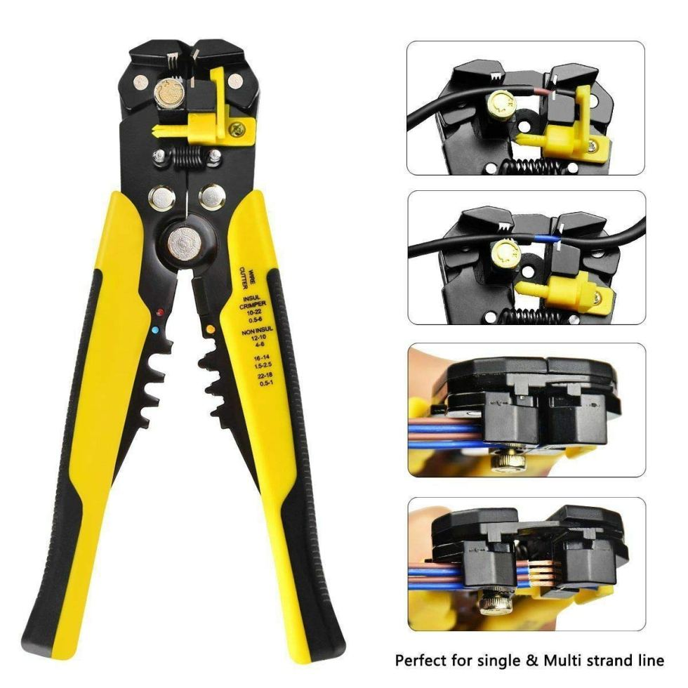 Sellingal New Professional Automatic Wire Striper Cutter Stripper Crimper Pliers Terminal Tool Wholesale