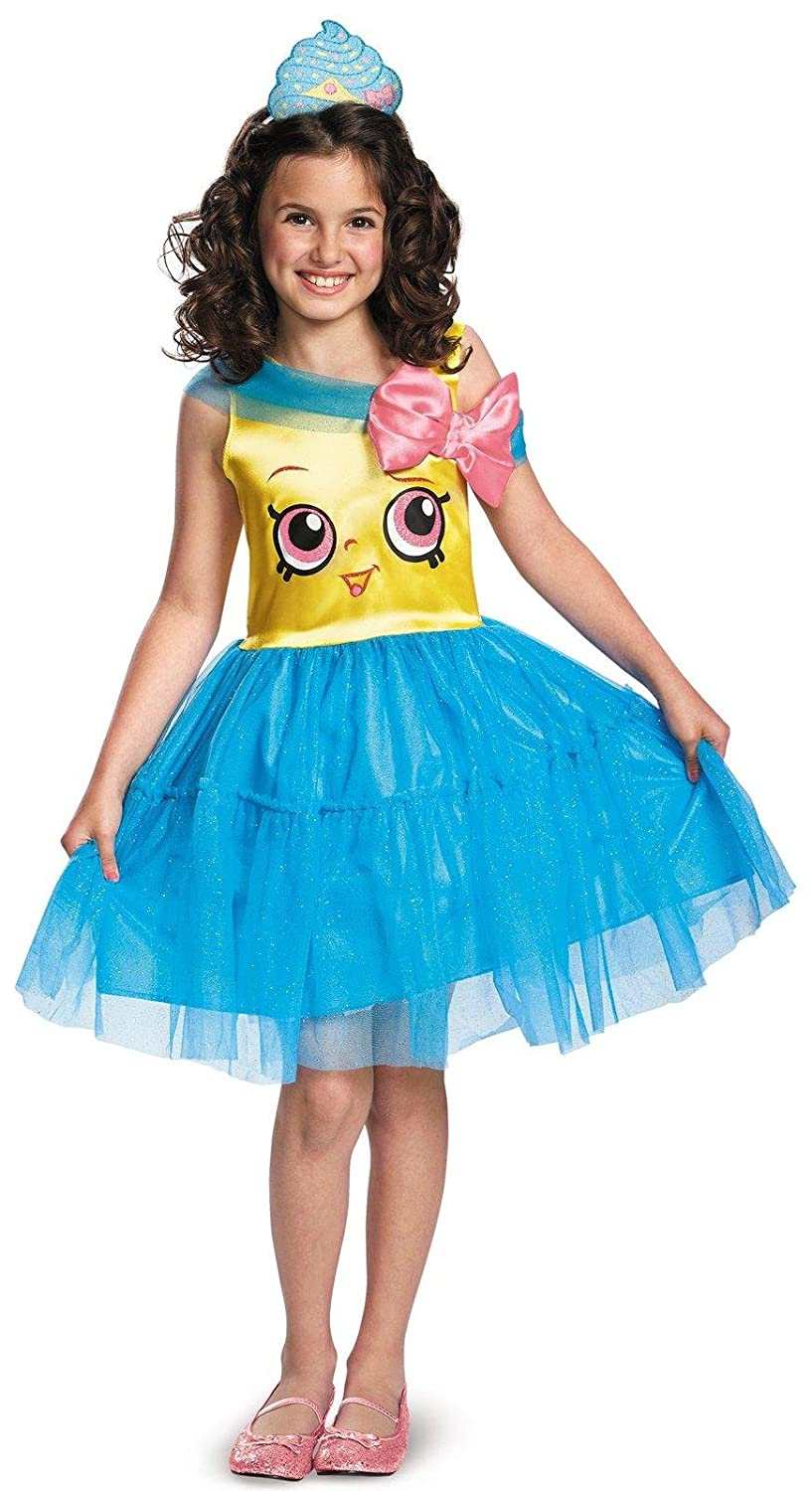 Disguise Shopkins Queen Cupcake Classic Costume, One Color, Small/4-6