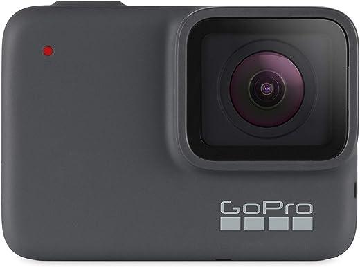 GoPro Hero 7 Silver - Caméra d'action numérique HD 4K, 10 MP Argent