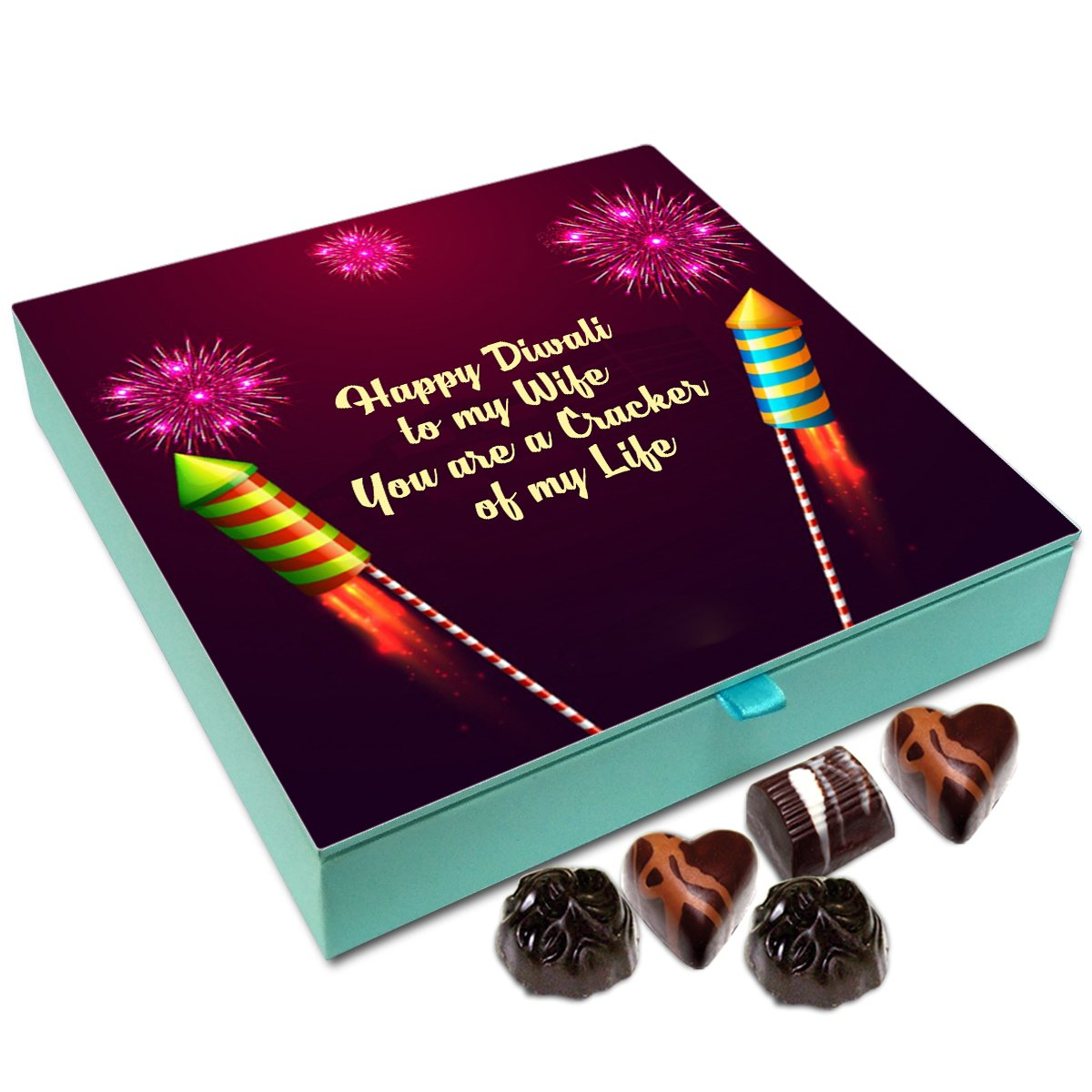 Chocholik Diwali Gift Box – 9 Pcs