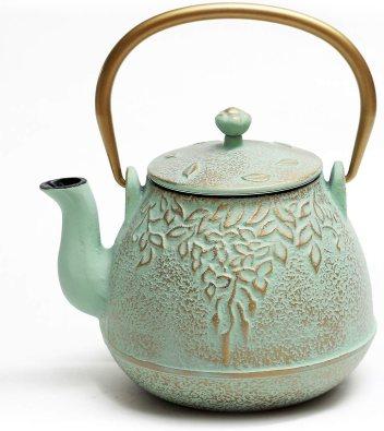 TOPTIER Japanese Cast Iron Tea Kettle