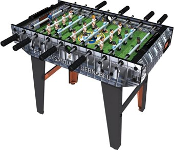 Minigols Mini Foosball Table with players from your favorite teams