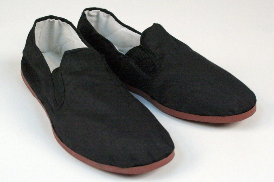 Kung Fu Tai Chi Shoes - Rubber Sole