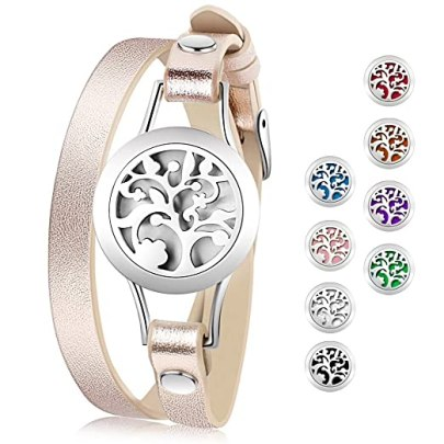 Aromatherapy diffuser magnetic bracelet, pamper yourself