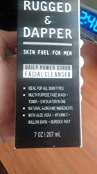 RUGGED & DAPPER Face Wash for Men   8 Oz.   Daily Scrub + Facial Cleanser + Toner In One   Combats Aging & Breakouts   Organic & Natural Ingredients Customer Image
