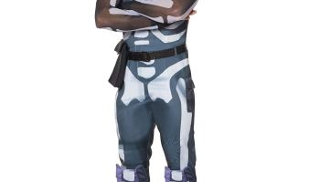 Spirit Halloween Fortnite Costumes.Spirit Halloween Fortnite Skull Trooper Costume Kit For