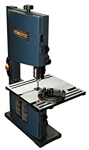 POWERTEC BS900 Band Saw 9-Inch