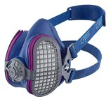 GVS SPR457 Elipse P100 Dust Half Mask Respirator with replaceable and reusable filters included