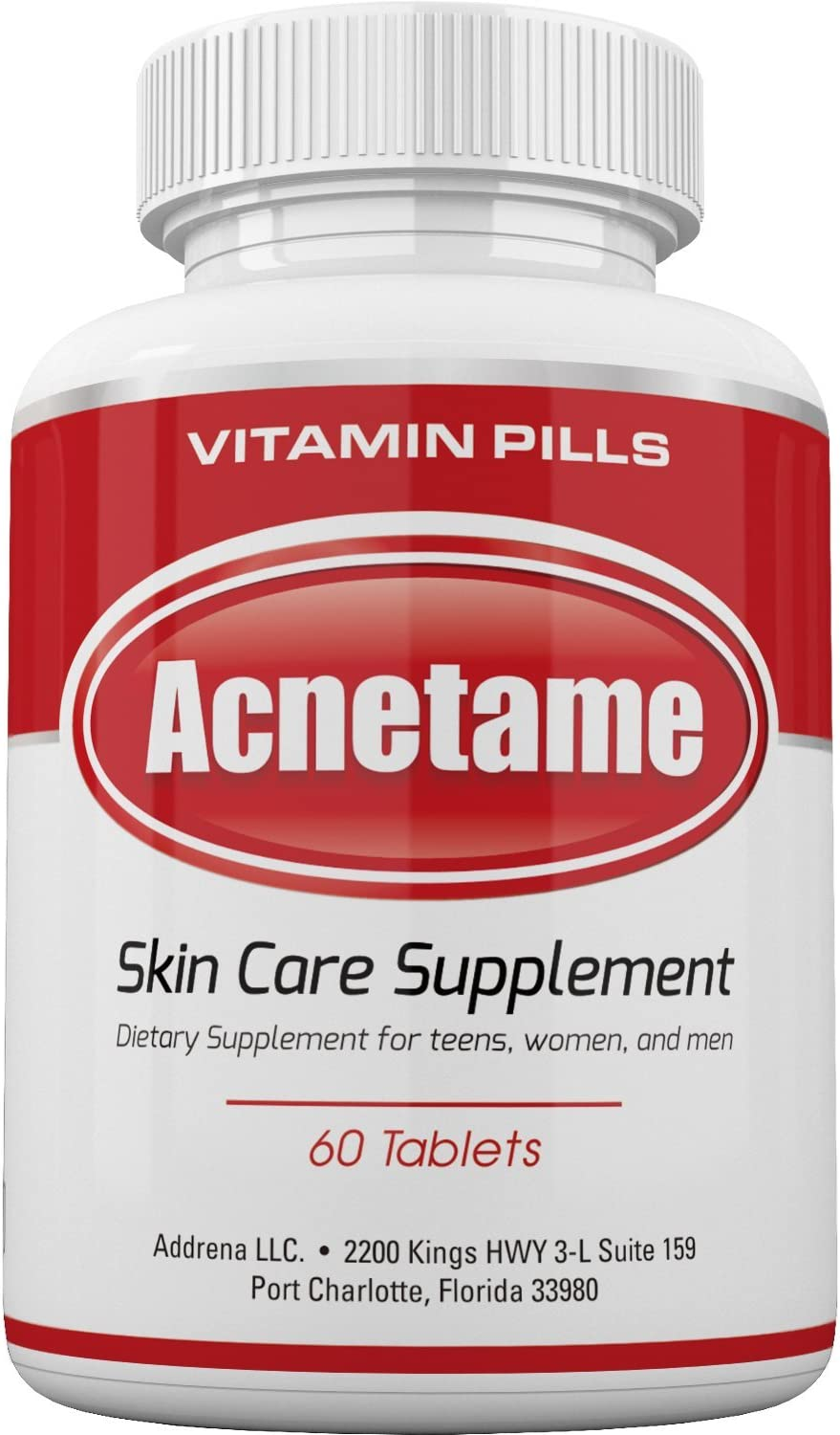 Roll over image to zoom in Acnetame- Vitamin Supplements for Acne Treatment, 60 Natural Pills