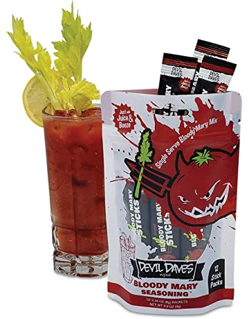 Devil Daves Bloody Mary Seasoning | 12 Pack Pouch