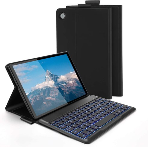 Jelly Comb Backlit Bluetooth Keyboard Case