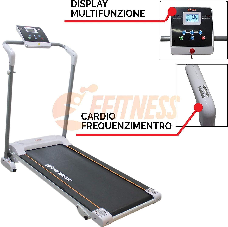 Tapis roulant con monitor e cardiofrequenzimetro