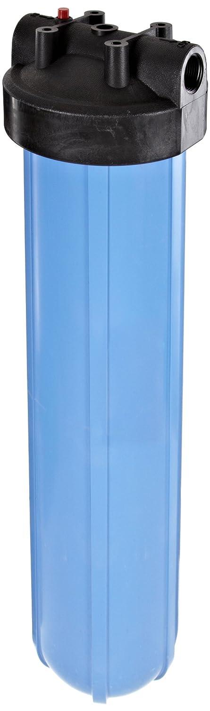 Pentek 150233, Big Blue, 1″ In/Out, #20 Blue/Black, HFPP, w/ PR