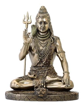 Buy Veronese Design Bhagwan Shiva Mahadev Idol Religious Gift ...