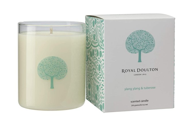 ylang ylang and tuberose candle, pamper yourself