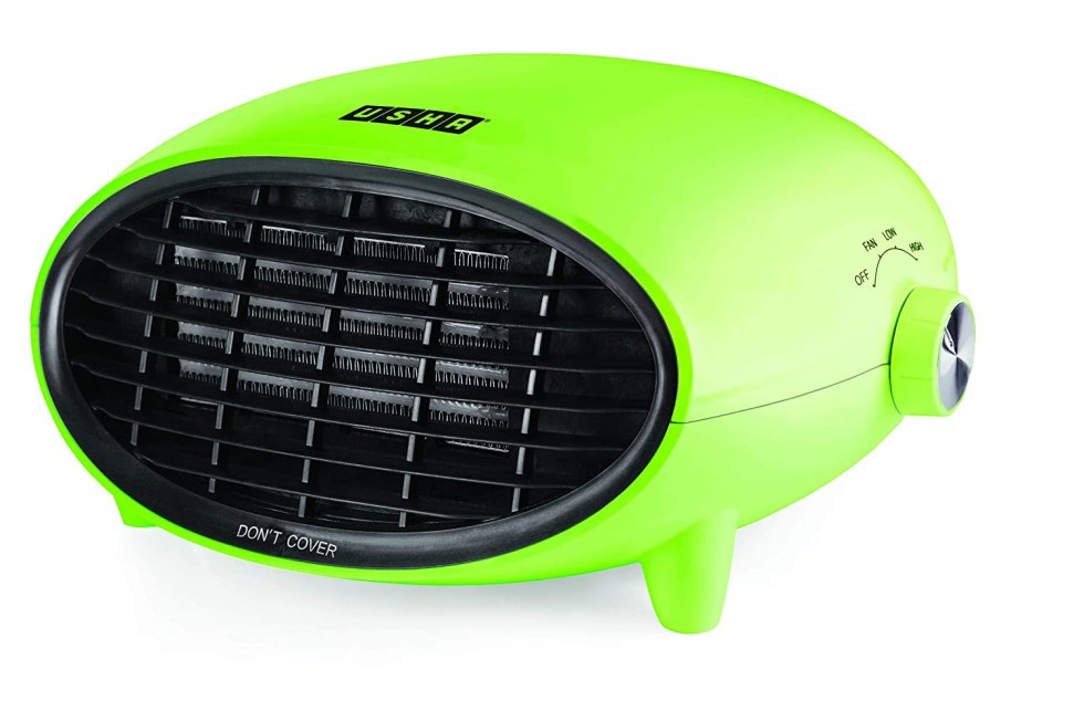 Usha 3632 PTC 2000-Watt Fan Heater